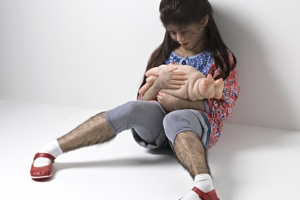 Patricia piccinini  the comforter  2010. courtesy kunstneren normal300