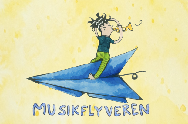 Musikflyveren   flyver normal620