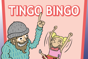 Tingo bingo kvadratisk normal300